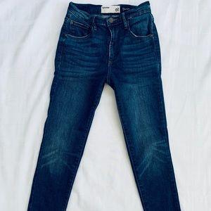 Garage Premium Jeans High Rise Dark Wash Sz 01